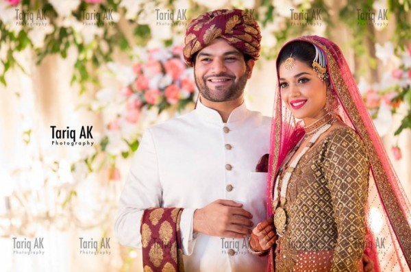 32cc2d0c8b beautiful clicks from sanam jung wedding - Just Bridal