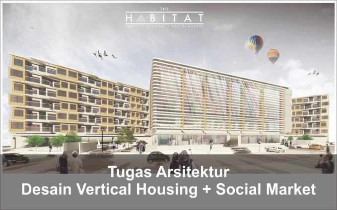 desain vertical housing