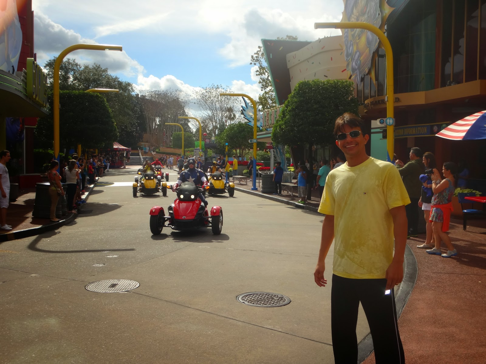 marvel - island of adventure - orlando, estados unidos