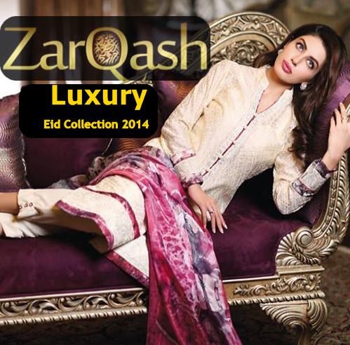 Zarqash Eid Winter Collection 2014