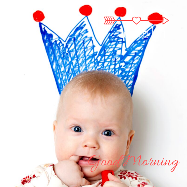 Beautiful Baby Happy  Good Morning Images