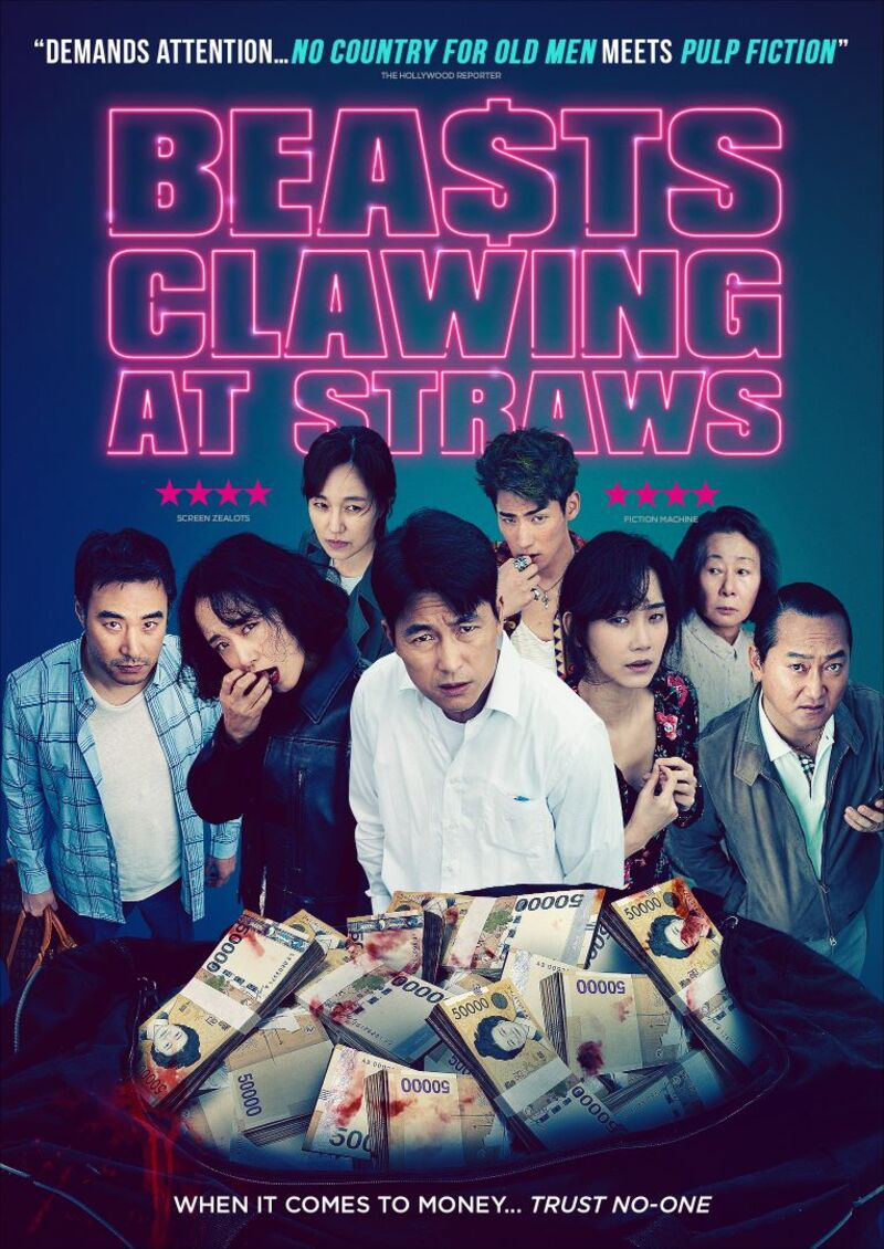 beasts clawing at straws poster