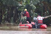 Tanggap Darurat Banjir, PMI Banten Turunkan Logistik dan Relawan