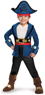 Captain Jake and the Neverland Pirates: Captain Jake Deluxe Child Costume