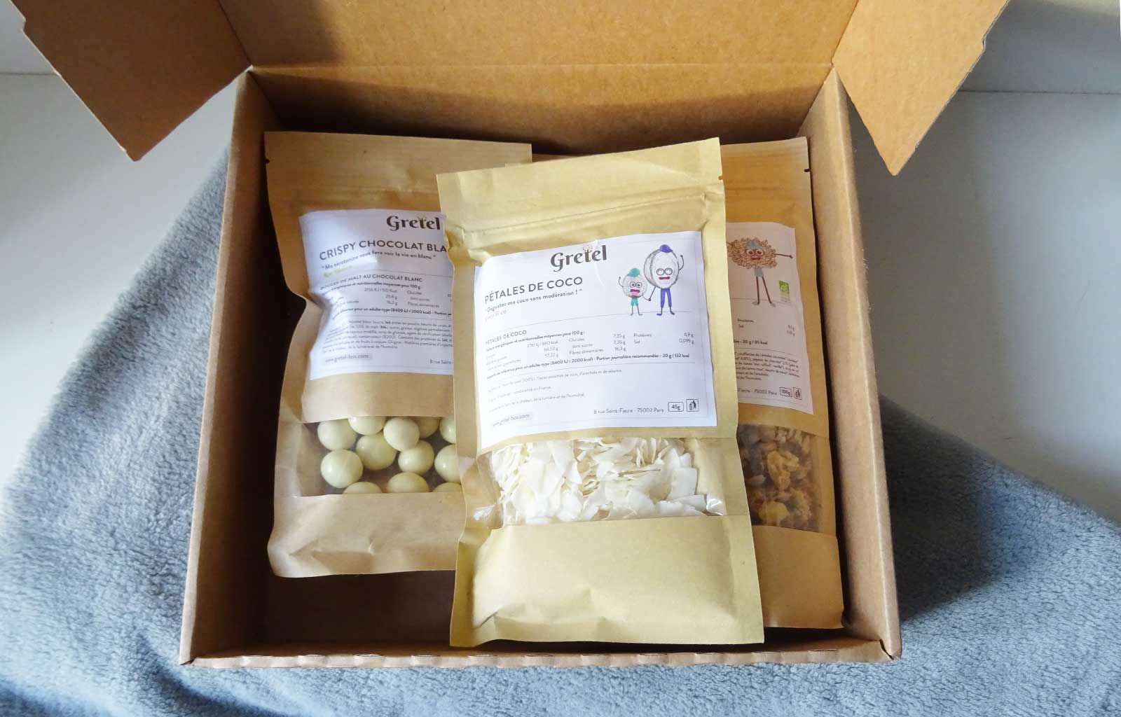 gretel box snacks