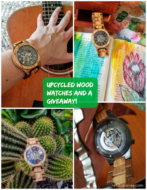 Wooden watches unique spring accessory