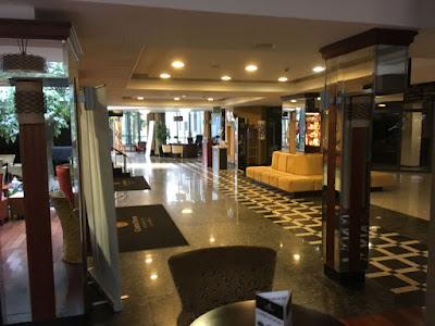 Hotel Czarny Potok, Krynica Zdrój, recepcja
