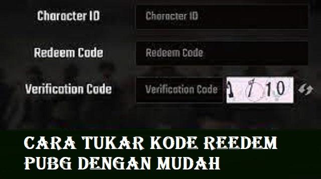 Cara Tukar Kode Redeem PUBG