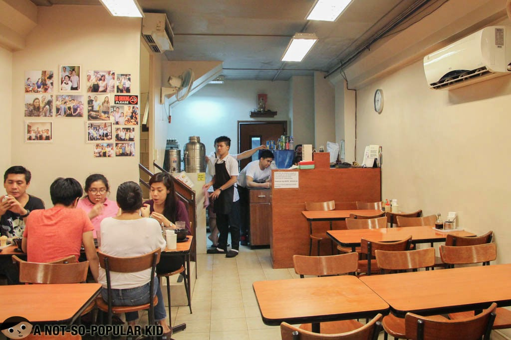 Interior of Tasty Dumplings in Binondo, Manila