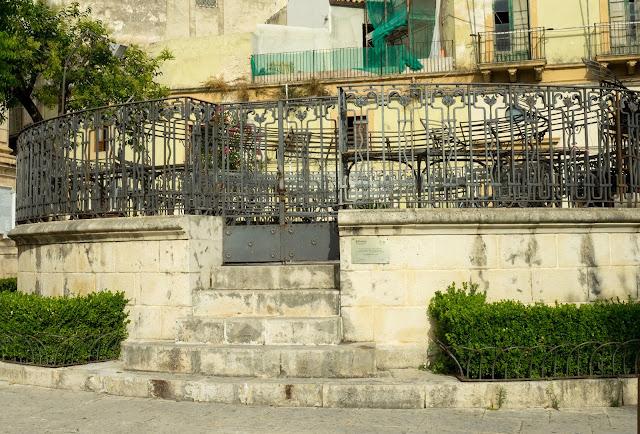 Scicli, centro storico, Palco della musica ©Valeriaderiso