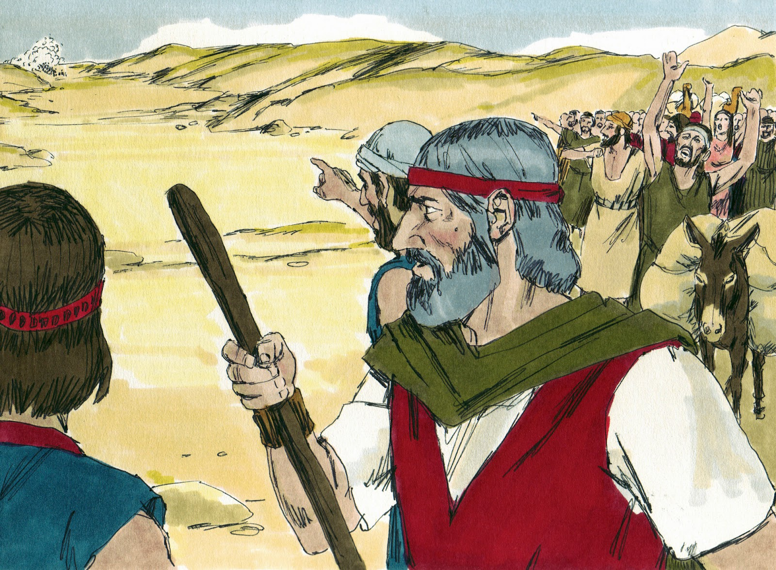 Bible Fun For Kids 2 4 Moses Amp The Red Sea Crossing