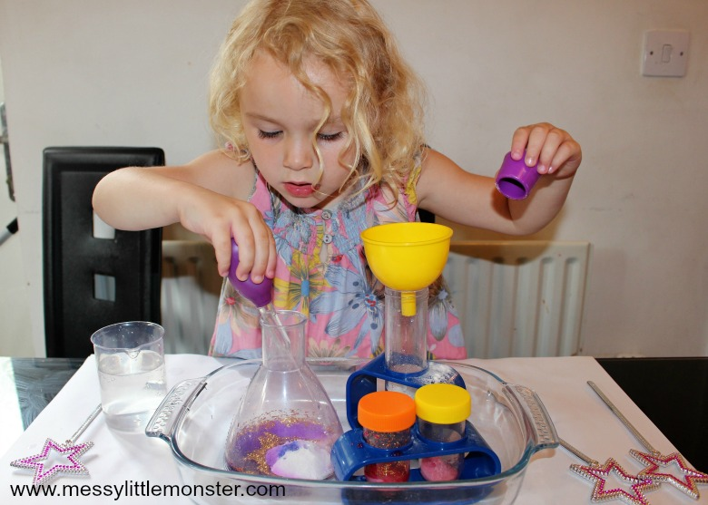 magic science experiment for kids