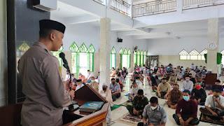 Kapolres Enrekang Syiar Ramadhan Di Masjid Agung Ramadhan , Harapkan Protokol Kesehatan Tetap Dipertahankan