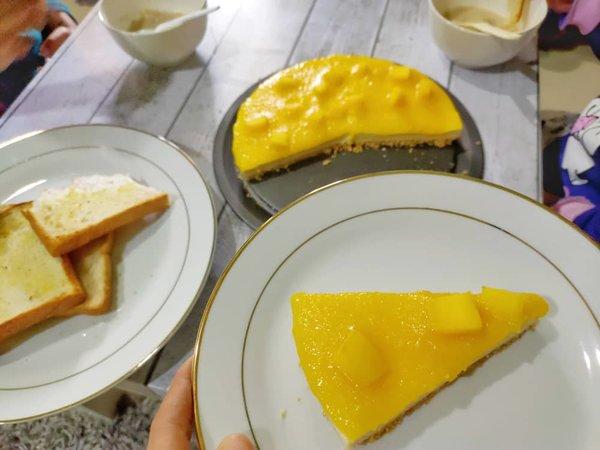 Resepi Mango Cheesecake Sedap ala Kula Cakes
