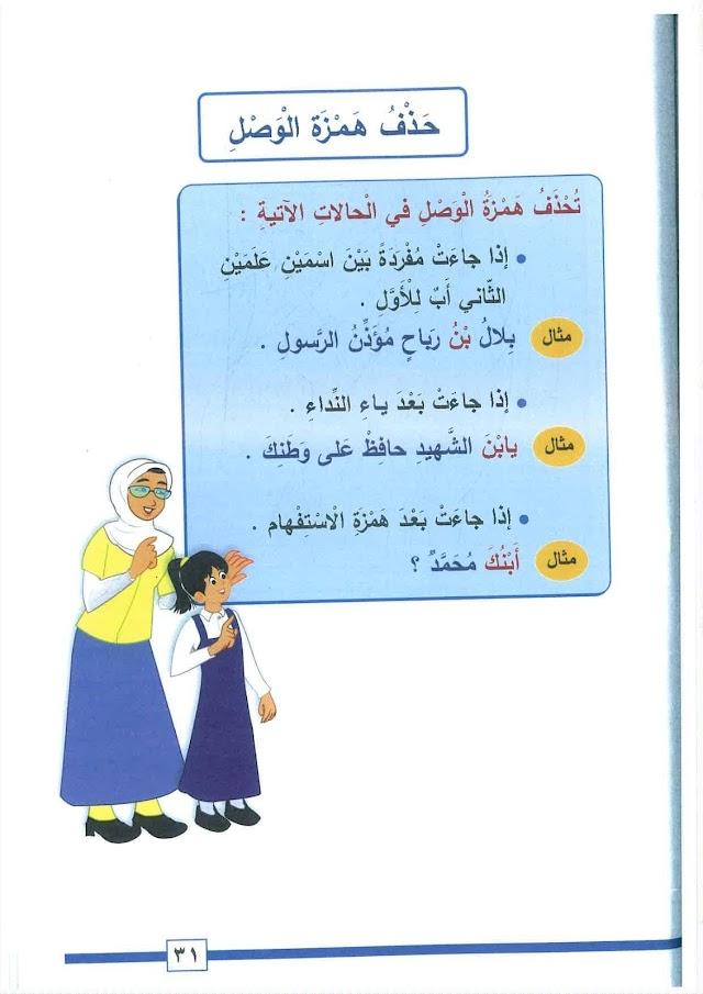 شرح حذف همزة الوصل في ابن وبن + تدريبات عليها