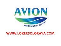 Loker Sukoharjo Gaji 3 Juta di AVION Multifunction Sprayer