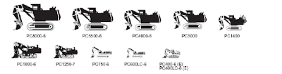 Hydraulic excavator (loading shovel)