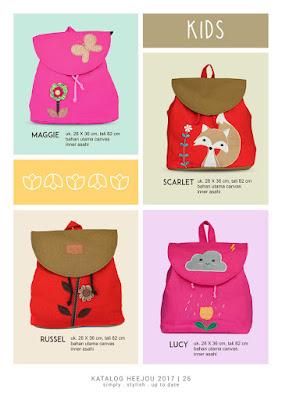 tas ransel anak, tas anak lucu, tas ransel murah