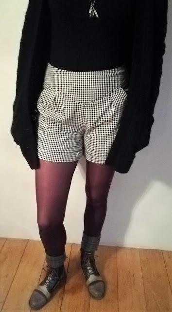 couture short femme