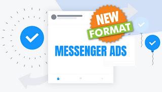 Formato publicitario Messenger Ads de OptiAds