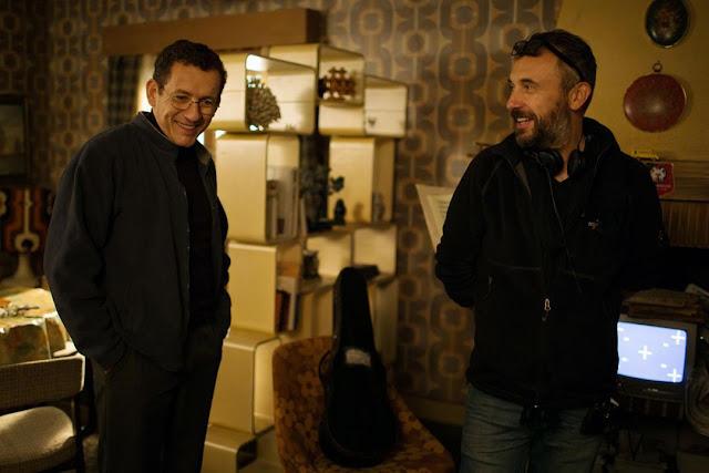 Dany Boon et Fred Cavayé sur le tournage de Radin !