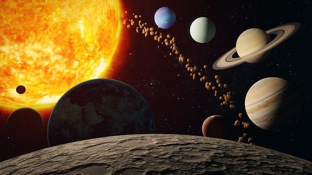 Nama Planet beserta ukuran, jenis dan gambar
