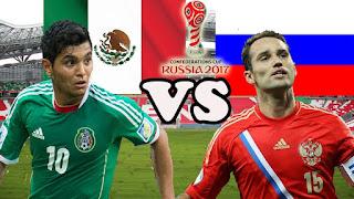 México vs Rusia en Copa FIFA Confederaciones Rusia 2017