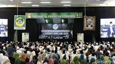 Presiden Jokowi Janji Jadikan Brigjen KH Syam'un Jadi Pahlawan Nasional - Info Presiden Jokowi Dan Pemerintah
