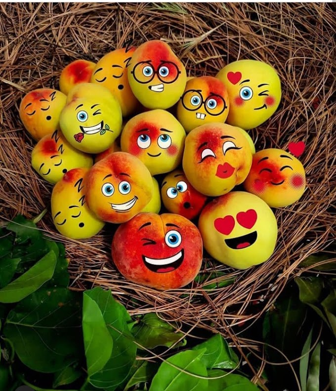 60+ Funny Fruit Emojis with Expressions & Reaction Emoticons Images - Mobile Friendly Wallpapers & Pictures