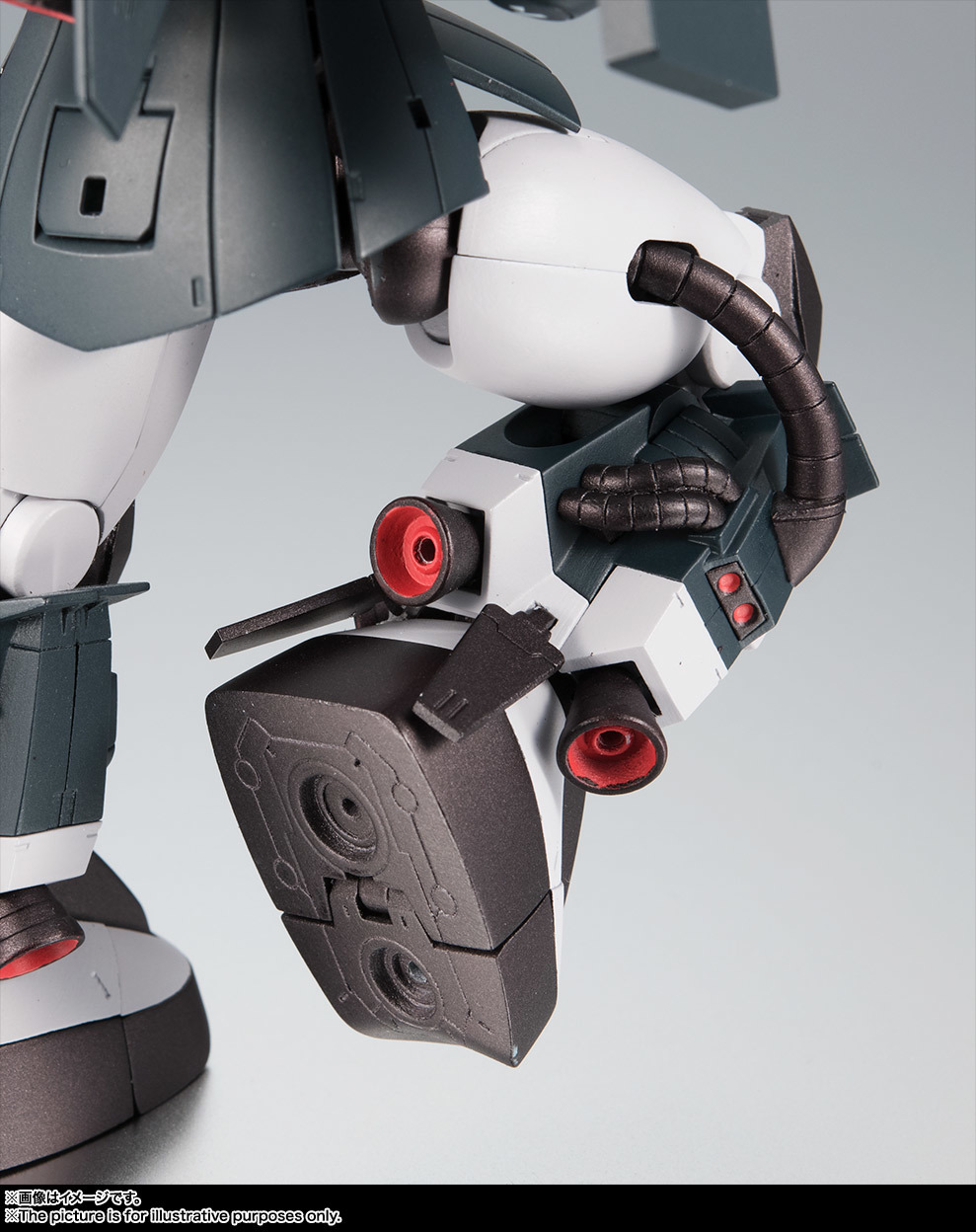 Robot Damashii (SIDE MS) MS-06R-1A Zaku II High Mobility Type [Black Tristar] ANIME Ver. - Release Info - Gundam Kits Collection News and Reviews