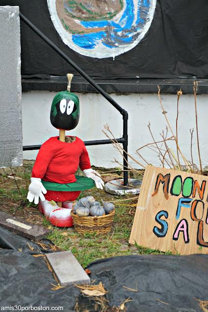 Llegada a la Luna en el Return of the Pumpkin People de Jackson en New Hampshire