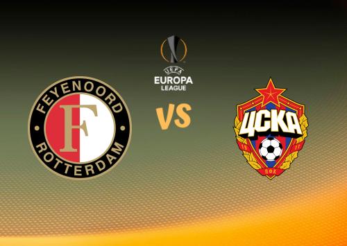 Feyenoord vs CSKA Moscú  Resumen