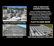 TYPES OF REINFORCED CONCRETE STRUCTURES