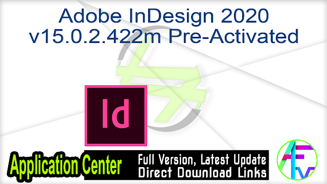 Adobe InDesign CC 2018 v13.1.0.76 June 2018 + Patch