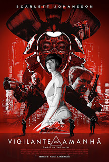 A Vigilante do Amanhã: Ghost in the Shell Dublado Online