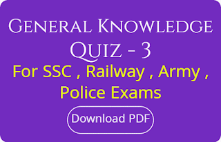 Genaral Knowledge Quiz - 3