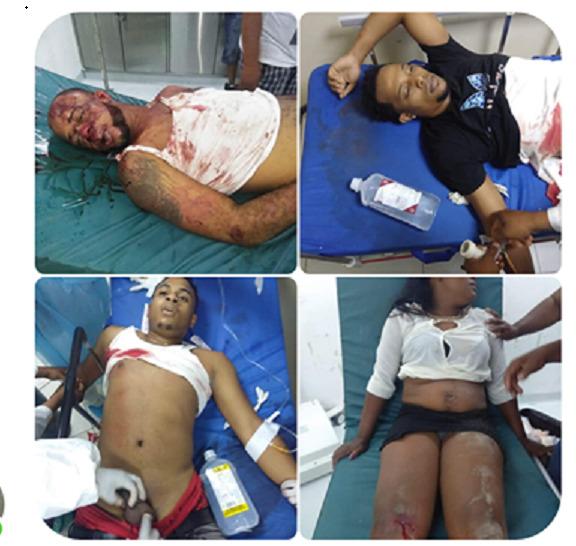 Tres Muertos y una mujer herida en  BARAHONA,  resultado de  Enfrentamiento de Bandas