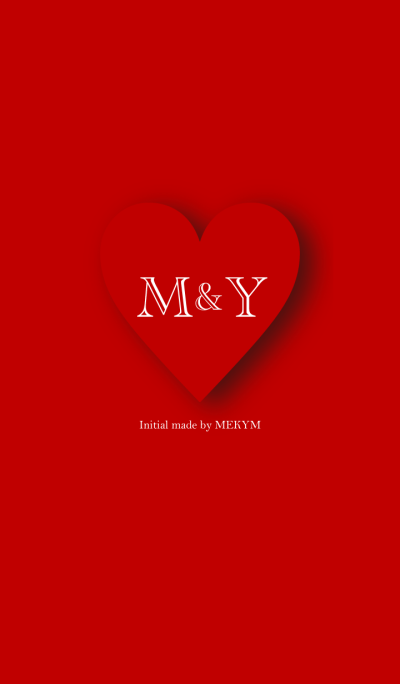Heart Initial -M&Y-