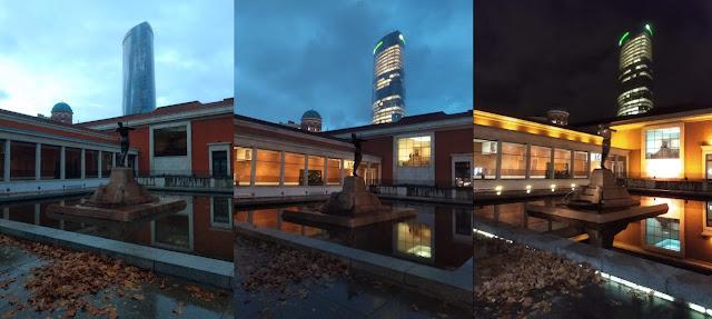 Jardines museo de bellas artes de Bilbao