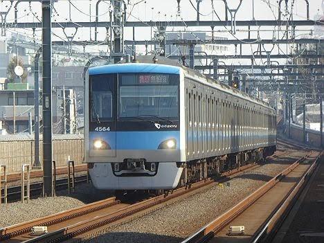 【ダイヤ改正で増発!】小田急電鉄 急行 新松田行き4 4000形(2018年までのEXP表示