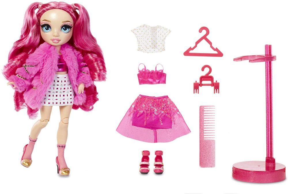 Розовая кукла Rainbow High Stella Monroe