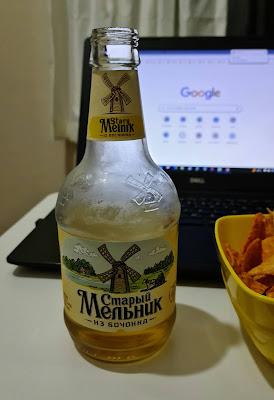Stary Melnik Iz Bochonka Açık Renkli Rus Birası