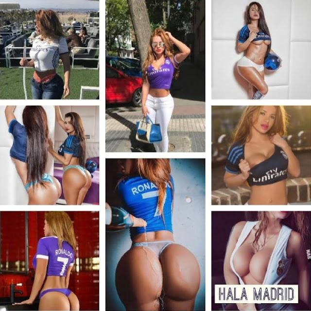 Sexy εμφανίσεις της Mirtha Sosa με φόντο την Ρεάλ Μαδρίτης