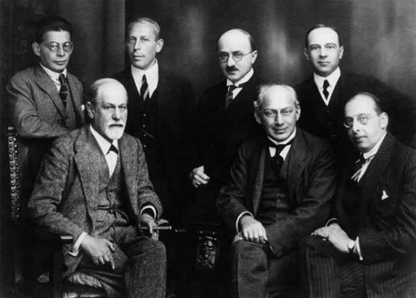 psihanaliza 1922 Otto Rank Sigmund Freud Karl Abraham Max-Eitingon Sándor Ferenczi Ernest Jones Hanns Sachs
