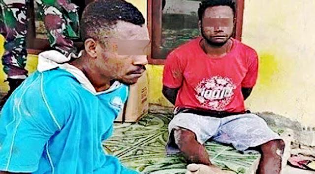 2 Anak Buah Manfet Fatem, Terduga Penyerang Pos Koramil Kisor Tertangkap di Maybrat.lelemuku.com.jpg