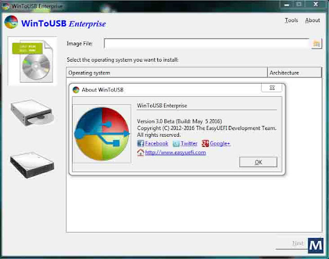 WinToUSB Enterprise v3.1 Screenshot Keygen Crack Software Free Download