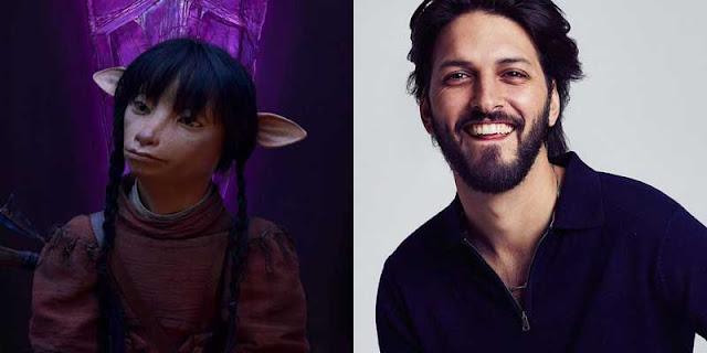 Shazad Latif es Kylan en 'Cristal Oscuro: La era de la Resistencia'