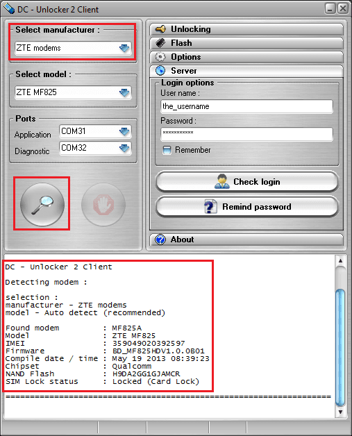 DC-Unlocker 2 Client 1.00.0890