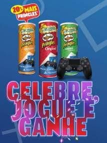 Promoção Pringles Batatas Natal 2018 - PS4 Vídeo-Game