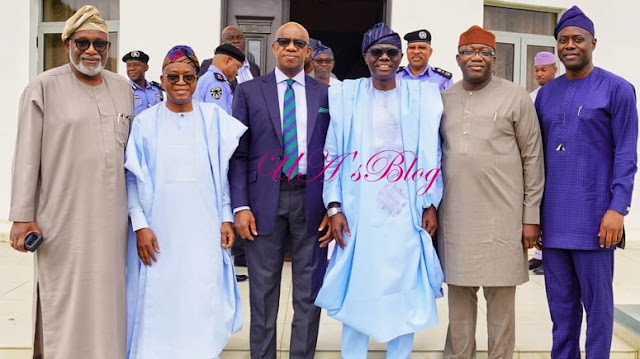 Southwest Governors And IGP Meet In Lagos Over Amotekun